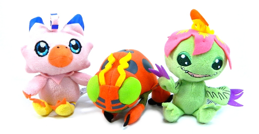 Photo Review Digimon Blind Boxed Plush Minis Figures Com