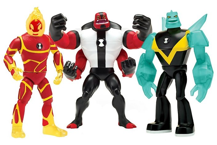 The Basic Action Figure Assortment SRP 899 Each Features A Variety Of 5 Inch Highly Detailed And Articulated Figures Based On Show Including Ben