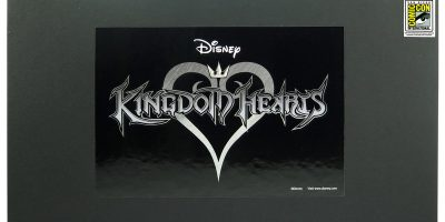 80180 Kingdom Hearts pewter KR 4pc Set Cover