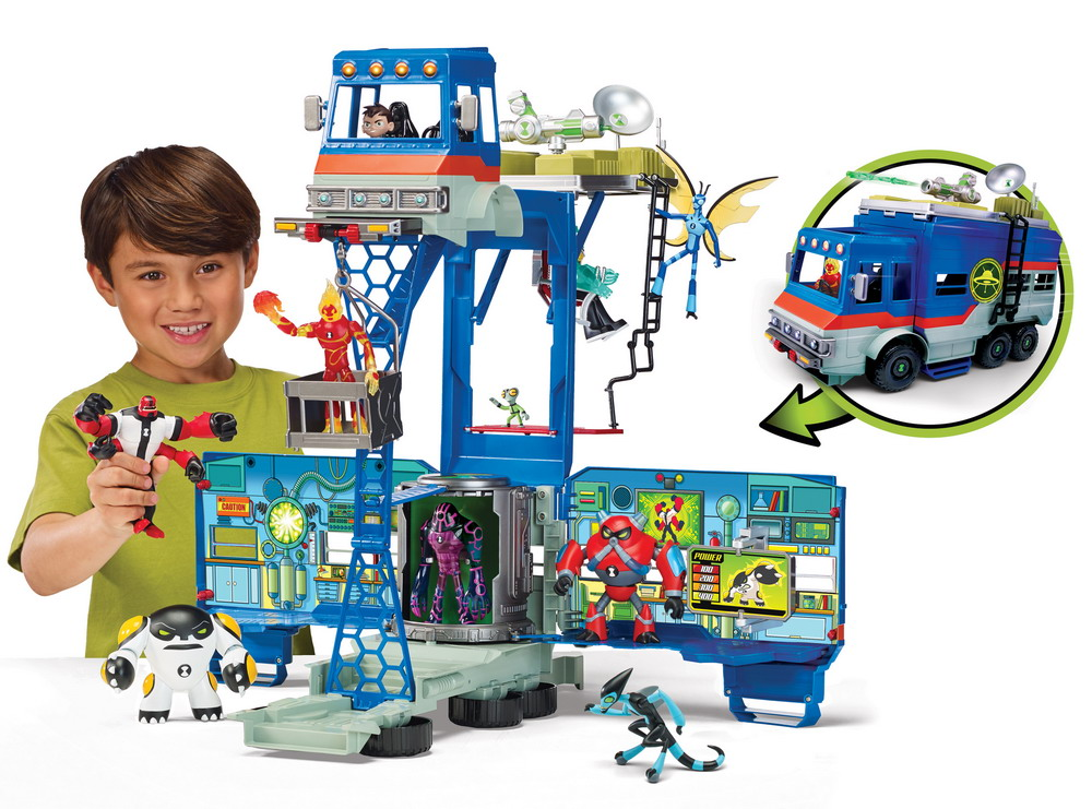 Playmates Toys Releases New BEN 10 Toy Line   Figures.com