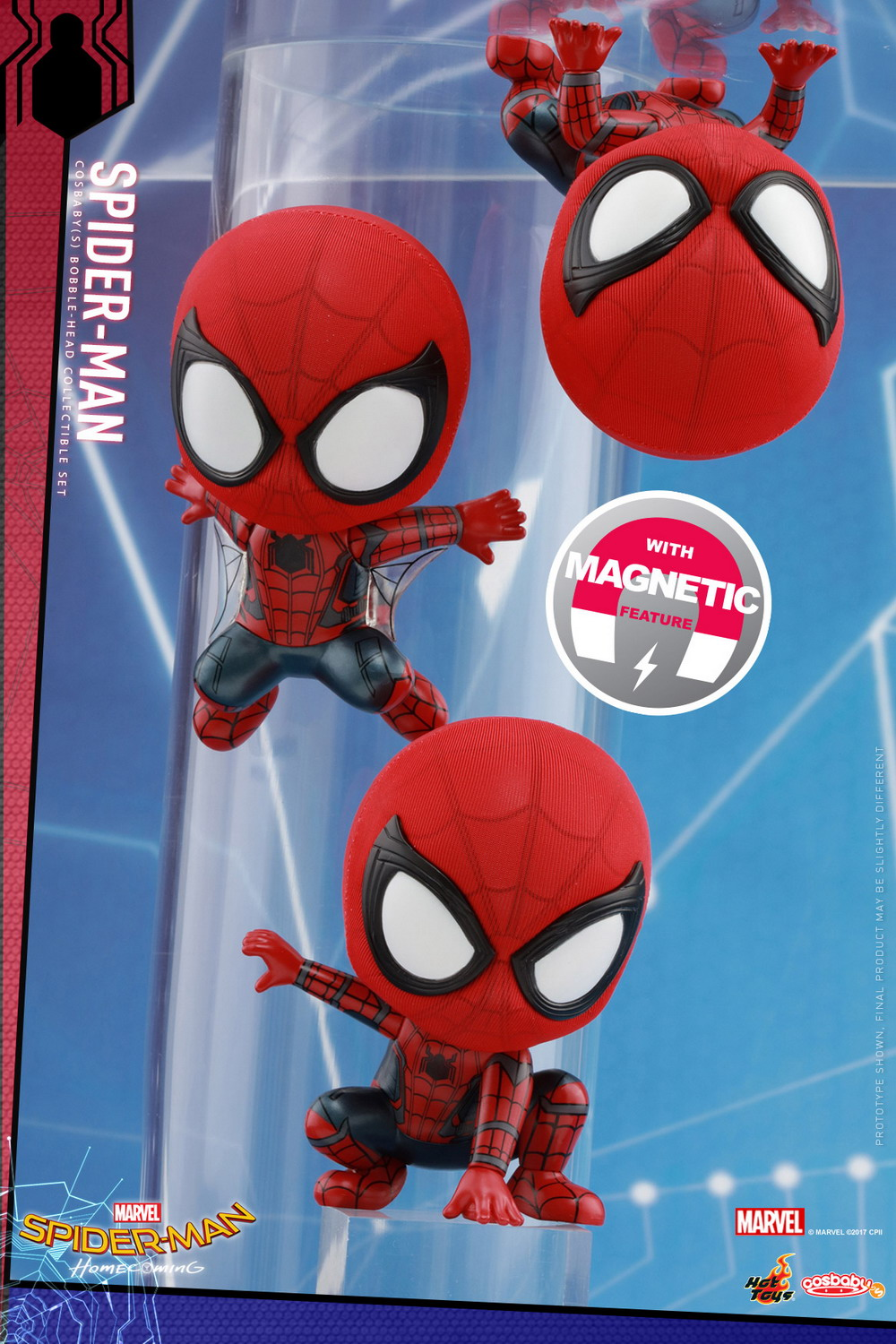 Hot Toys Spider Man Homecoming Cosbaby Series Figures Com