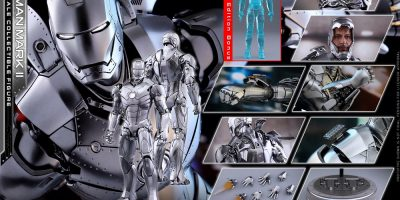 Hot Toys - Iron Man - Mark II Diecast Collectible Figure_PR19 (Special-Version)