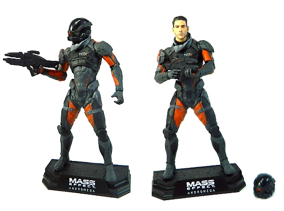 Mass Effect Andromeda X5 Ghost: REVIEW: McFarlane Toys Color Tops