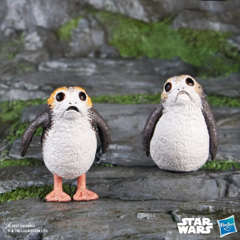 STAR WARS THE BLACK SERIES 6-INCH SCALE Porgs