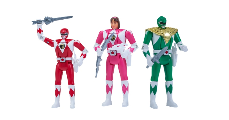 Power Rangers Kick Off 25th Anniversary With Re Release Of Iconic