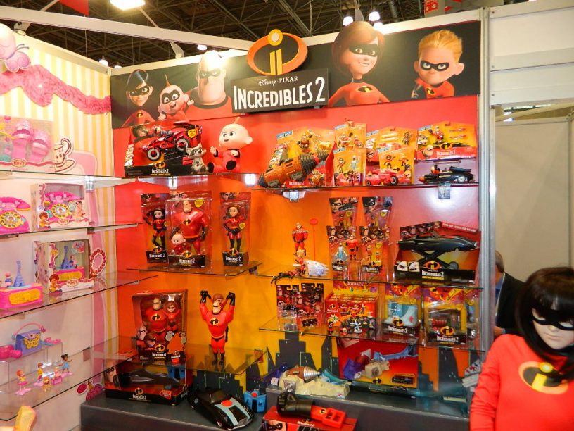 NYTF18: JAKKS Pacific Takes on Incredibles 2, Harry Potter ...