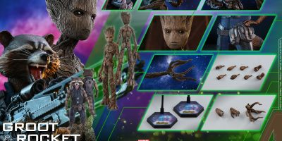 Hot Toys - AIW - Groot & Rocket collectible set_PR26