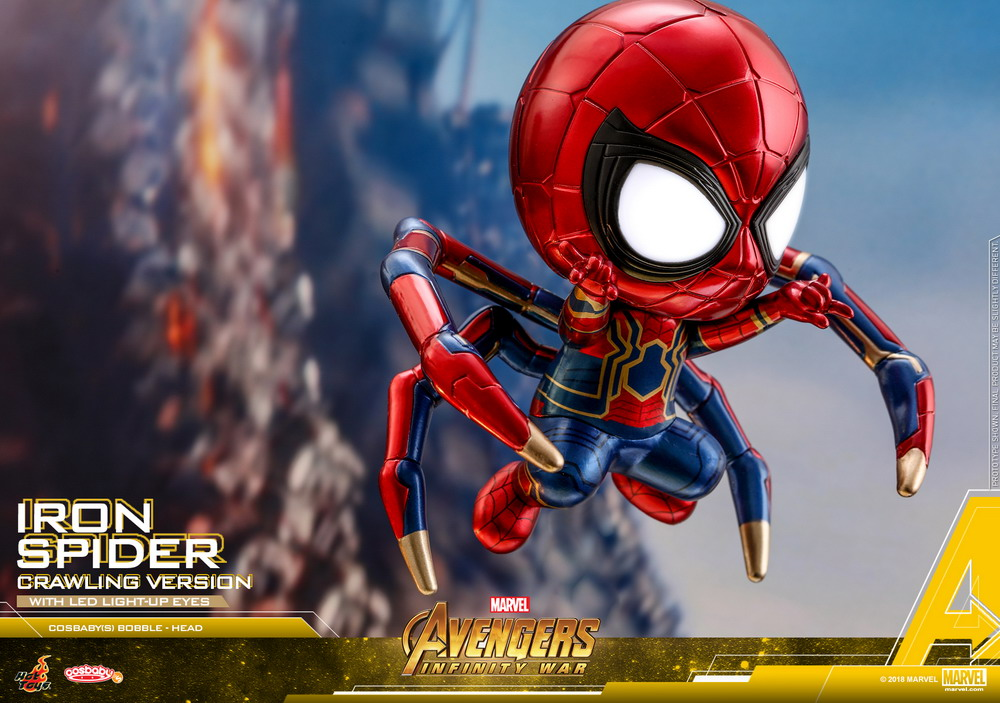 Hot Toys - AIW - Iron Spider (Crawling Version) Cosbaby(S)_PR2