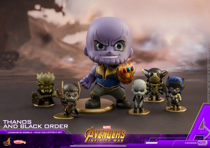 Hot Toys - AIW - Thanos & Black Order Cosbaby(S) collectible set_PR1