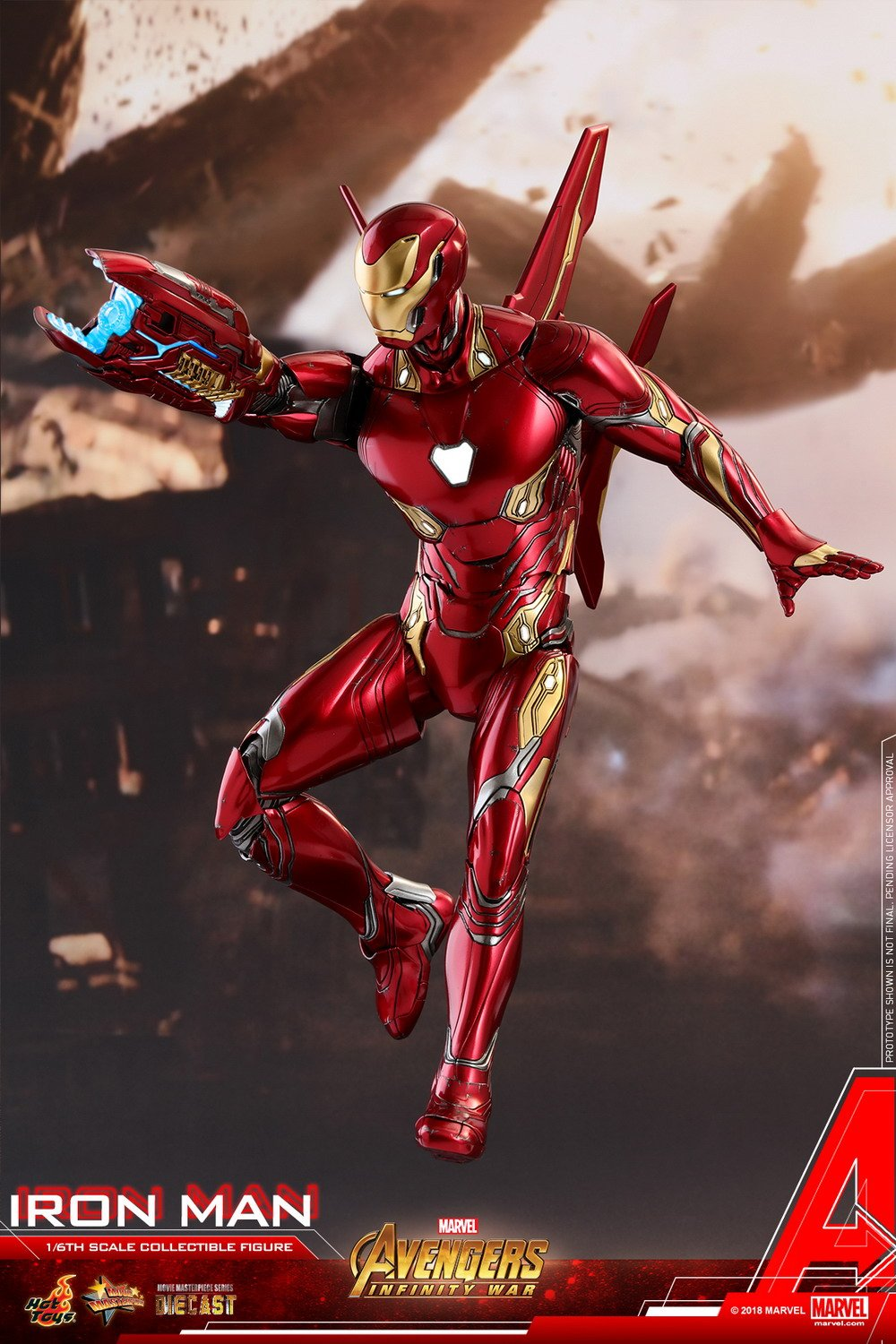 Hot Toys Avengers: Infinity War 1/6th scale Iron Man ...