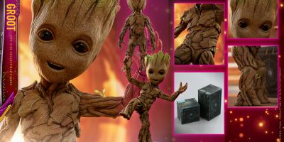 Hot Toys - GOTG2 - Groot Life-size Collectible Figure_PR12