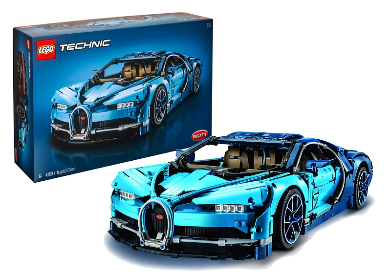 high class design bugatti chiron gets lego technic. Black Bedroom Furniture Sets. Home Design Ideas