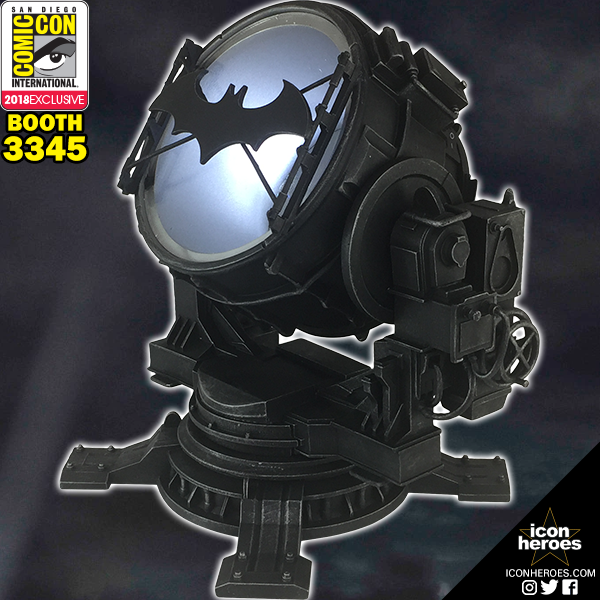 Icon Heroes SDCC 2018 Exclusive Batman Arkham Knight Bat Signal