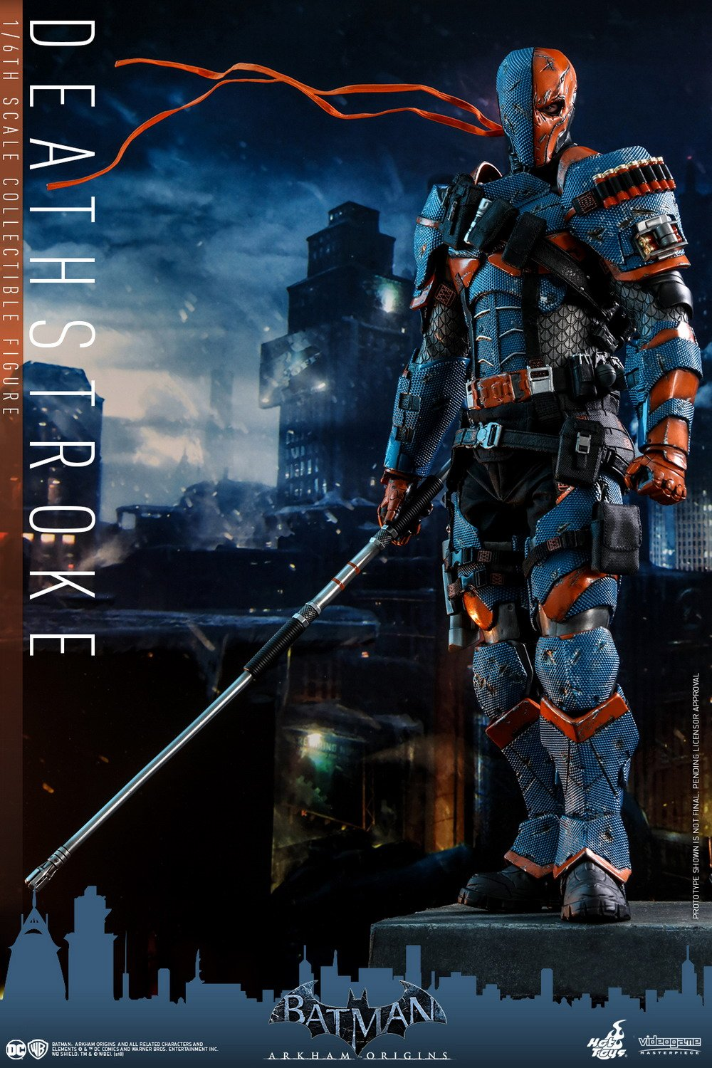 hot toys batman arkham origins 16 deathstroke figurescom