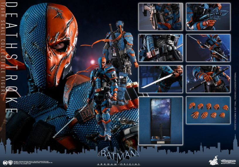 1//6 scale toy Arkham Origins Deathstroke Figure Base Stand