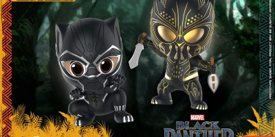 Hot Toys - Black Panther and Erik Killmonger Cosbaby (S) Bobble-Head Collectible Set_PR1