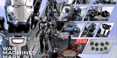 Hot Toys - Avengers 3 - War Machine Mark IV (Diecast) collectible figure_PR21 (Special)