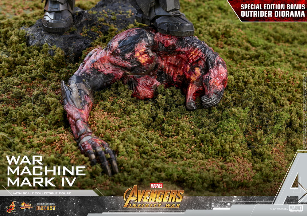 Hot Toys - Avengers 3 - War Machine Mark IV (Diecast) collectible figure_PR22 (Special)