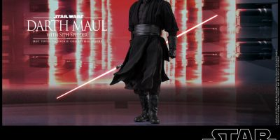 Hot Toys - Star Wars - Darth Maul with Sith Speeder collectible figure_PR20