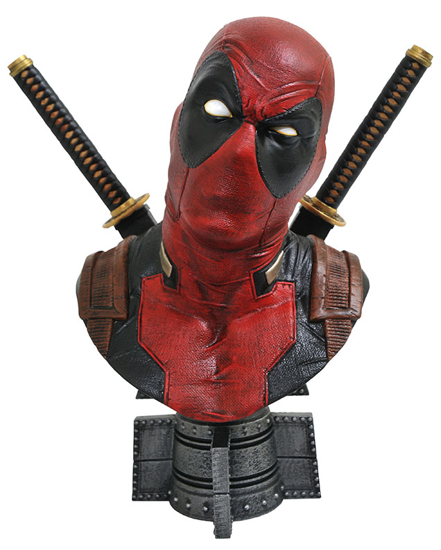 DeadpoolHalfScaleBust