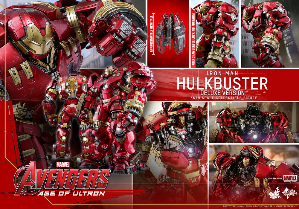 Hot Toys - AAOU - Hulkbuster (Deluxe Version) collectible figure_PR27