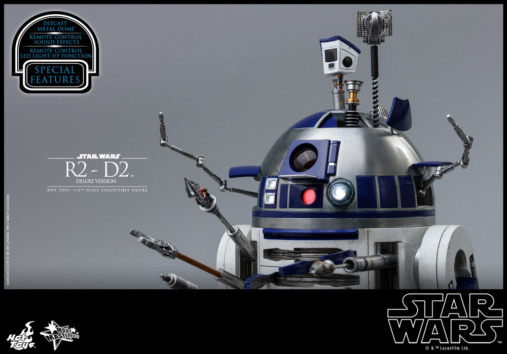 Hot Toys - Star Wars - R2-D2 (Deluxe Version) Collectible Figure_PR20