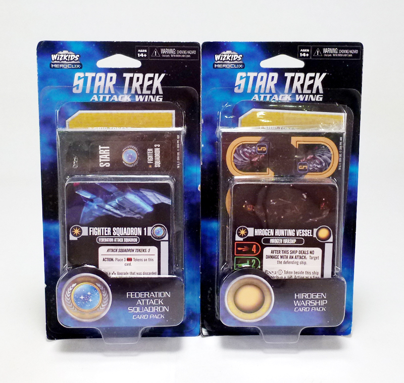 REVIEW: Star Trek Attack Wing Card Packs Wave 4 | Figures com