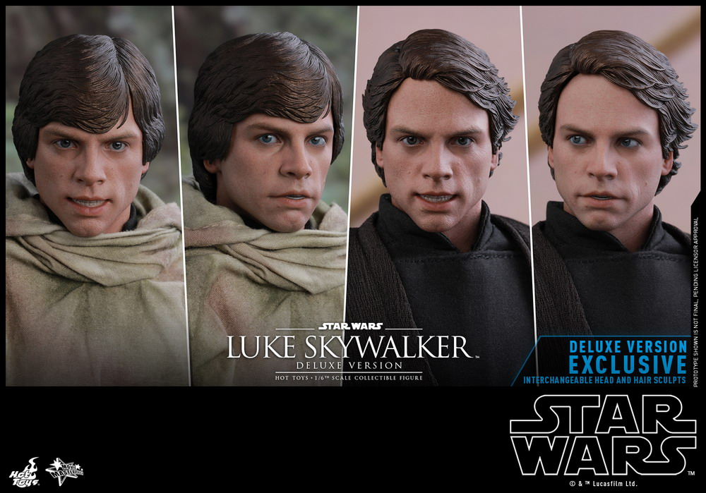 Hot Toys Luke Skywalker ROTJ DELUXE MMS517 Goggles loose 1//6th scale