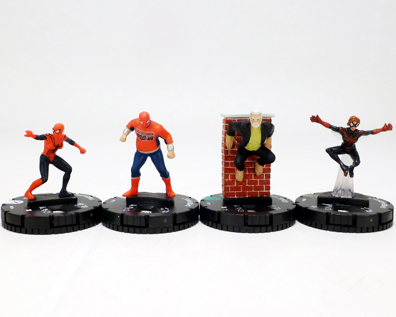 group - spider-man family