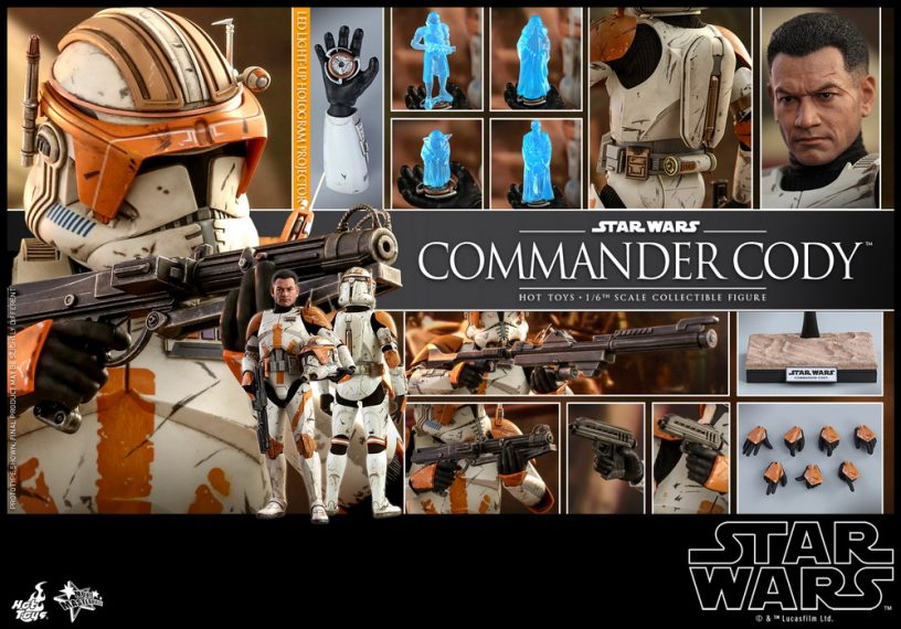 Hot Toys Star Wars Episode III: Revenge of the Sith - Commander Cody