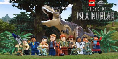 JW LEGO_Legend of Isla Nublar cast photo_with logo