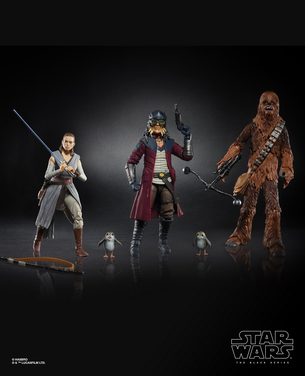 STAR WARS THE BLACK SERIES 6-INCH SMUGGLER'S RUN 4-PACK (oop)