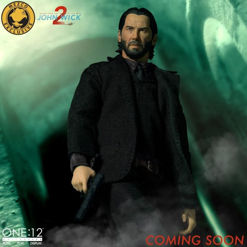 One 12 Collective John Wick Chapter 2 Deluxe Edition Figures Com
