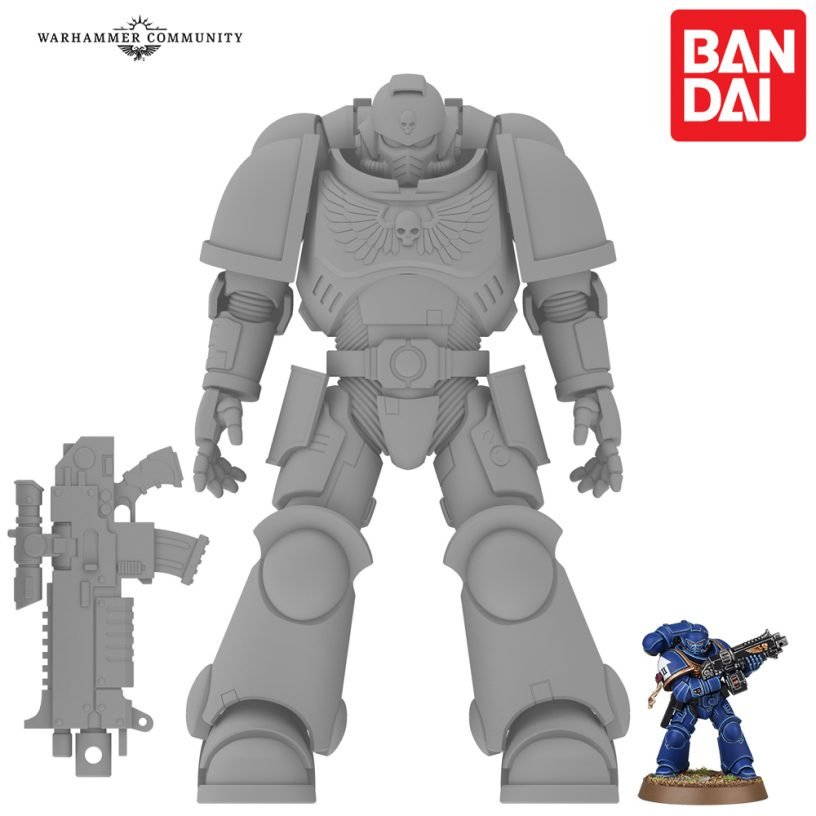 Bandai and Games Workshop Combine Forces On New Warhammer 40K