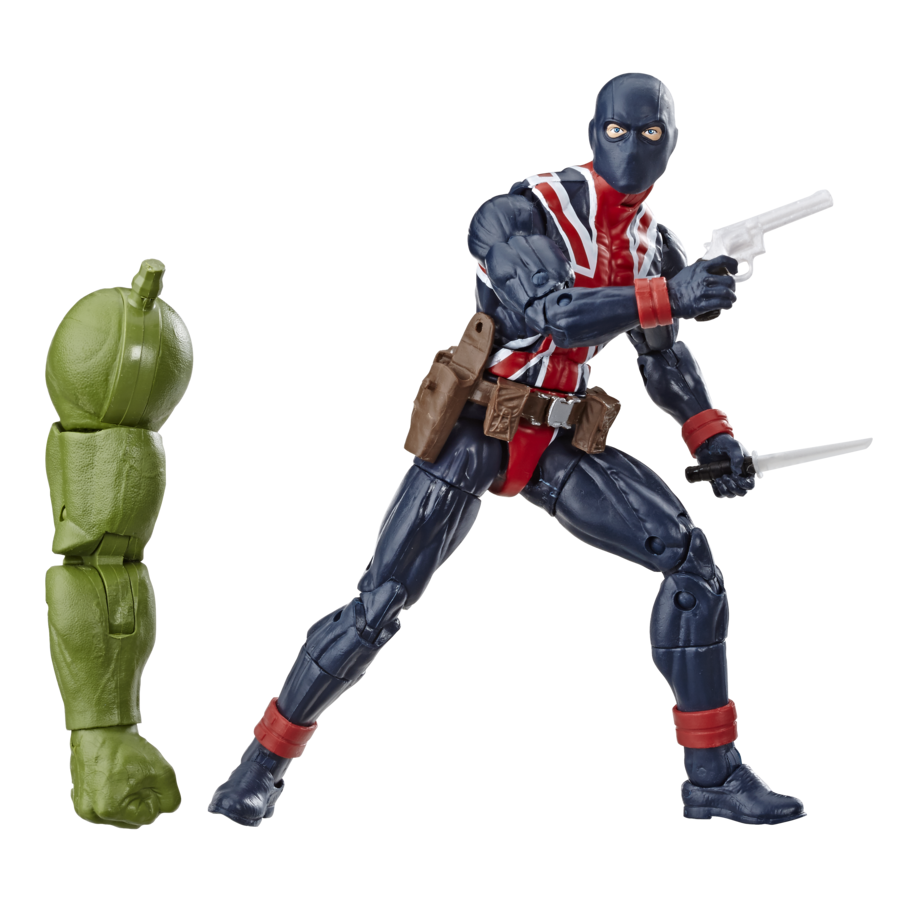 MARVEL AVENGERS ENDGAME LEGENDS SERIES 6-INCH Figure Assortment - Union Jack (oop)
