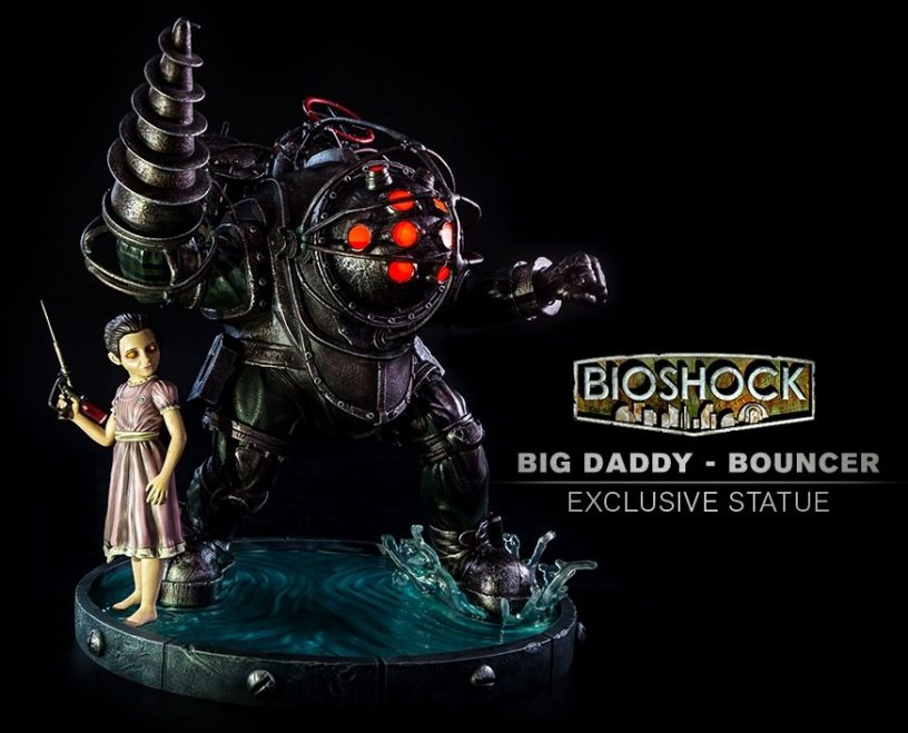 Gaming Heads BioShock Big Daddy Bouncer Statue | Figures com