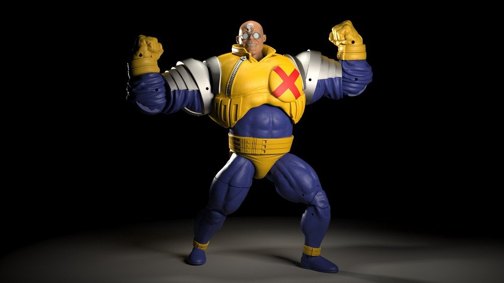 HASBRO MARVEL LEGENDS SERIES 6-INCH STRONG GUY