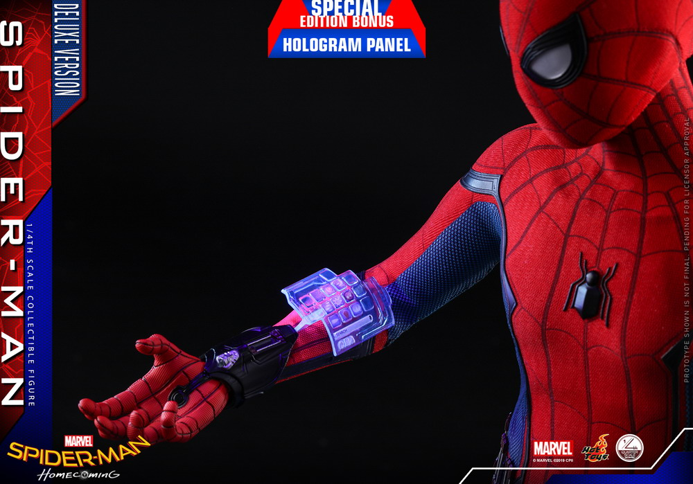 Hot Toys Marvel Spider-Man: Homecoming 1/4 Scale Spider-Man