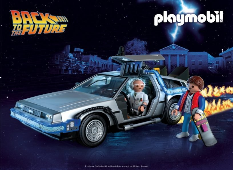 """Playmobil has a new toy line celebrating the 35th Anniversary of """"Back To The Future"""""""