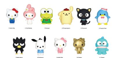 78005 Sanrio 3D Foam Bag Clip(Front Side)
