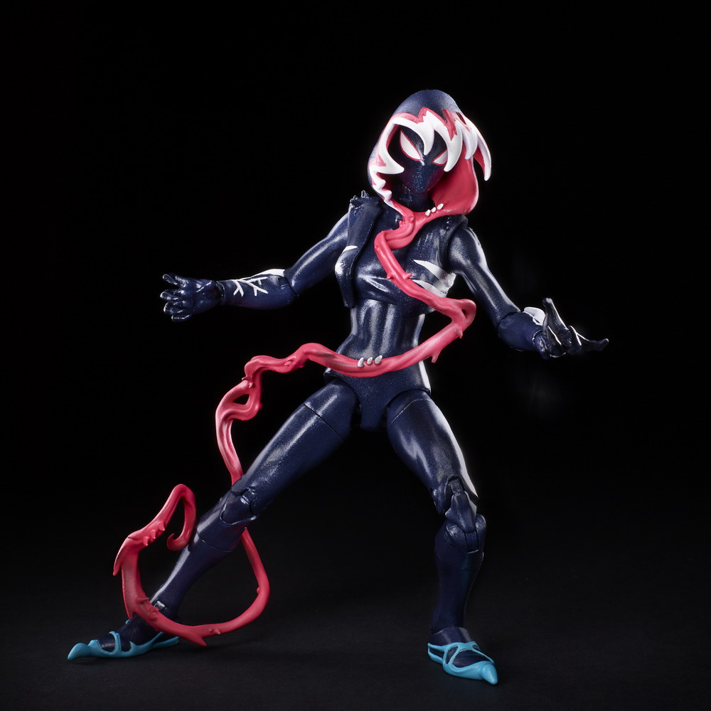 MARVEL LEGENDS SERIES 6-INCH VENOMIZED GHOST SPIDER Figure - oop