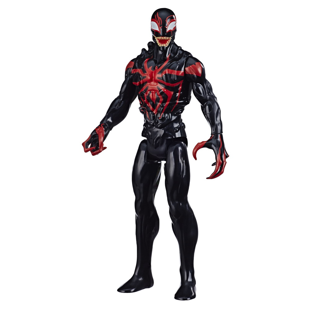 SPIDER-MAN MAXIMUM VENOM TITAN HERO MILES MORALES Figure - oop