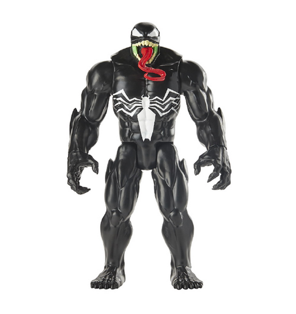 SPIDER-MAN MAXIMUM VENOM TITAN HERO VENOM Figure - oop