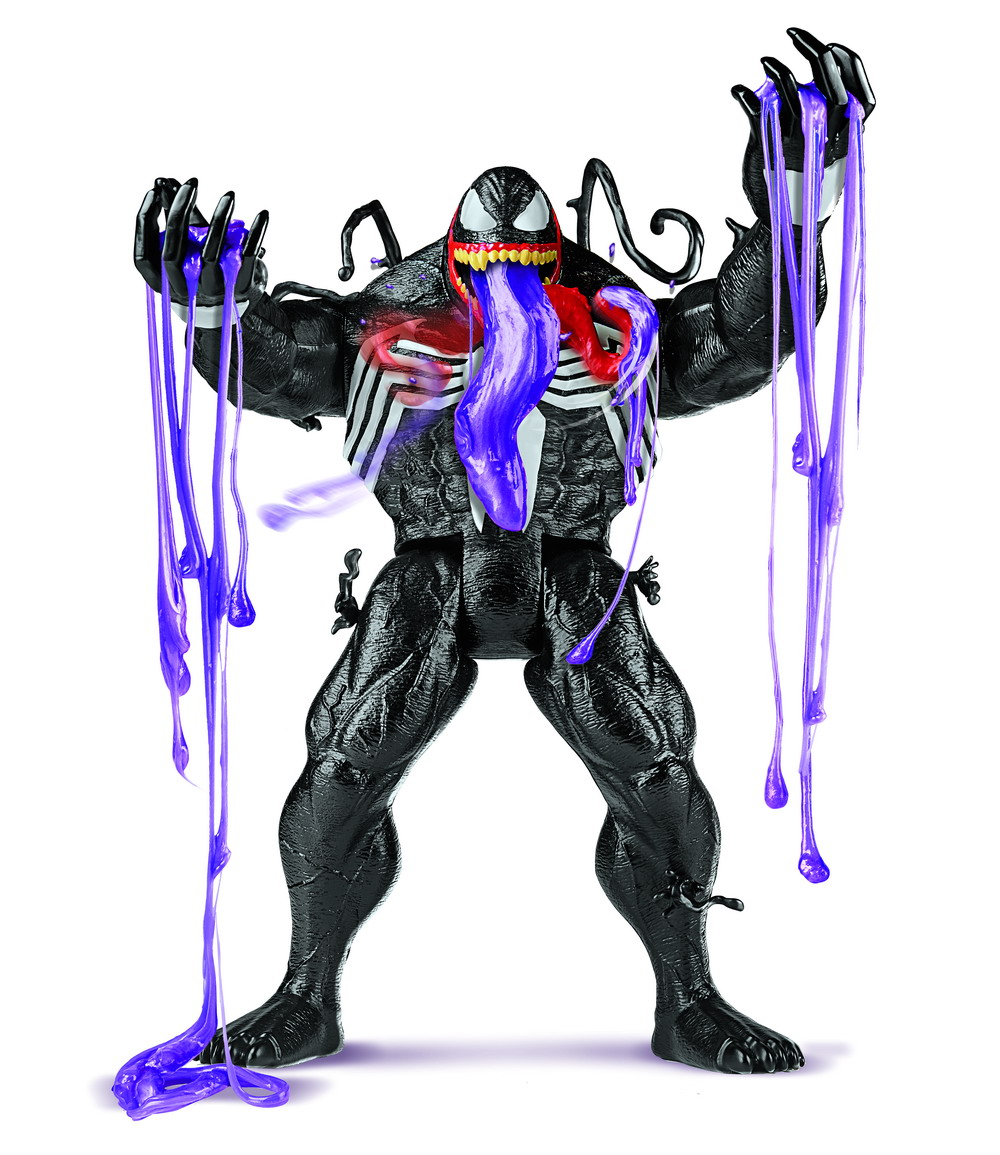 SPIDER-MAN MAXIMUM VENOM VENOM OOZE Figure - oop