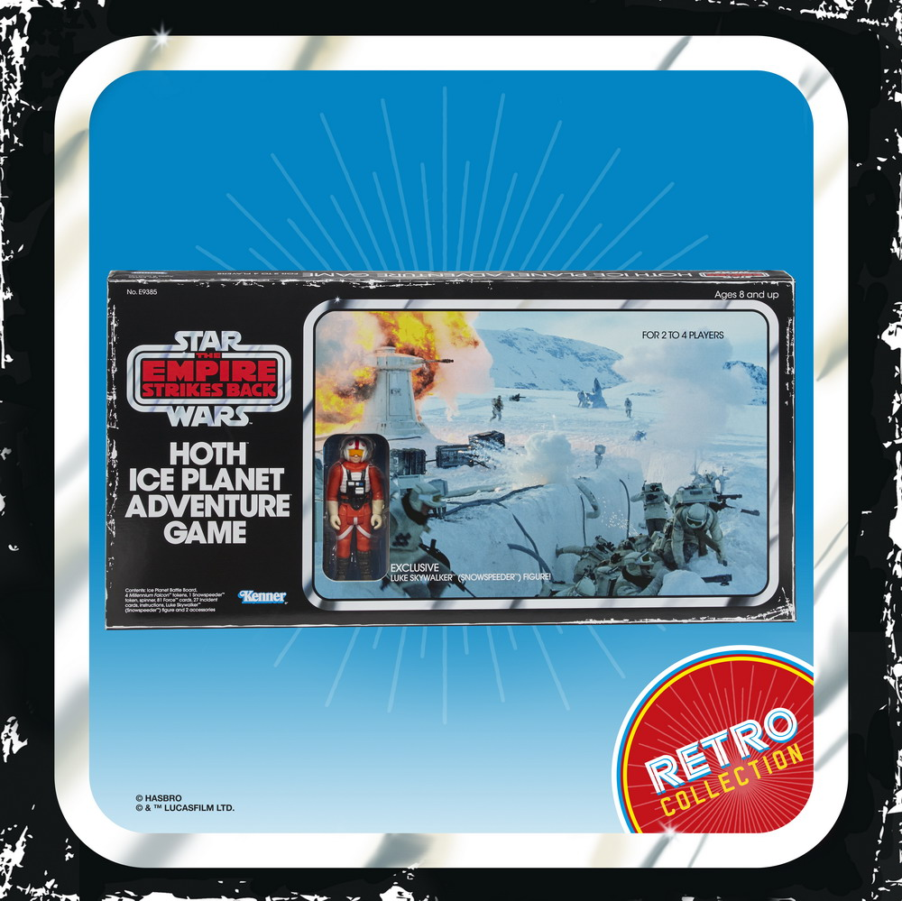 STAR WARS THE EMPIRE STRIKES BACK HOTH ICE PLANET ADVENTURE Game - in pck (1)