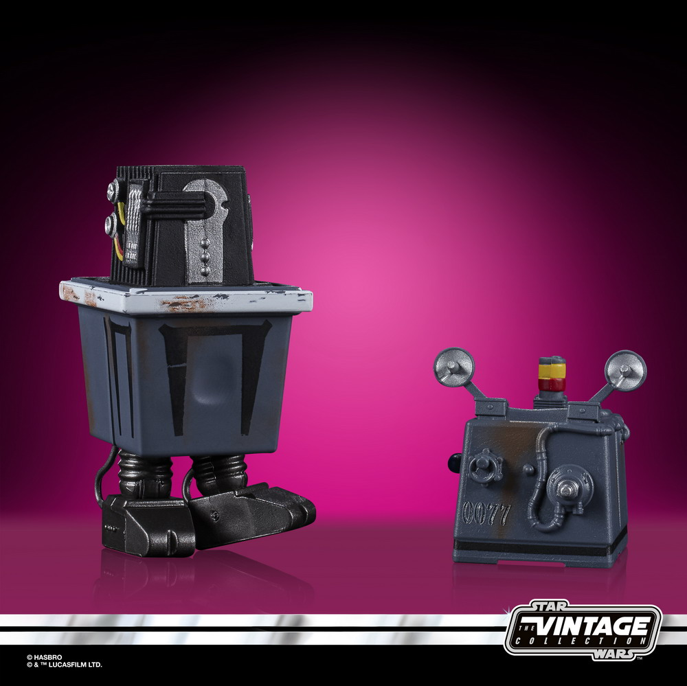 STAR WARS THE VINTAGE COLLECTION 3.75-INCH POWER DROID Figure - oop (2)