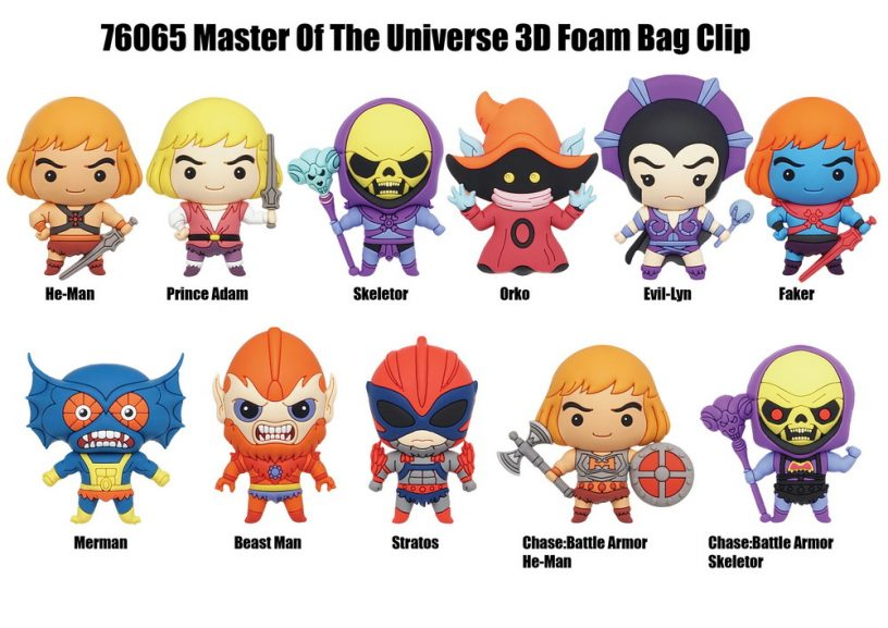 76065 Master Of The Universe 3D Bag Clip-01