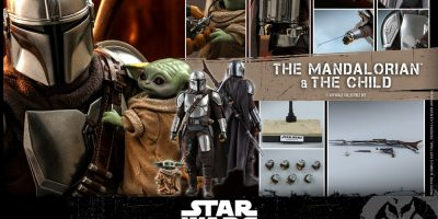 Hot Toys - STM - Mandalorian and Child Collectible Set_PR18