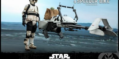 Hot Toys - SWM - Scout Trooper and Speeder Bike Collectible Set_PR4