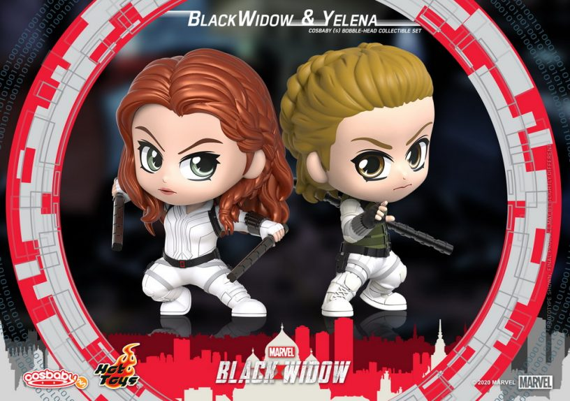 Hot Toys - Black Widow - Black Widow & Yelena Cosbaby (S) Bobble-Head Collectible Set_PR1